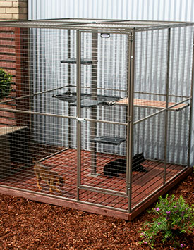 Deluxe Cat Enclosure